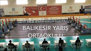 Gambar cover Balıkesir Yarış Ortaokulu | Yıldızlar Düzenlemeli | 2019 MEB İzmir Grup #Zeybekoloji