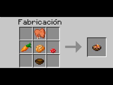Como hacer un caldo de conejo en minecraft youtube - Como hacer sopa de setas en minecraft ...