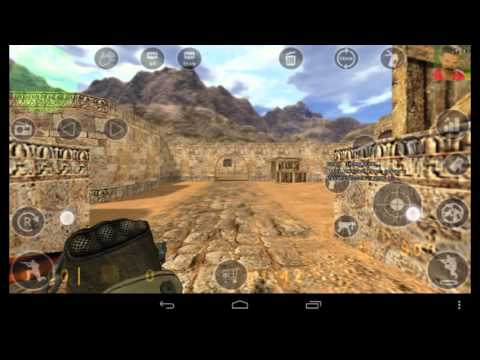 Counter Strike 1.6 Android Gameplay :)