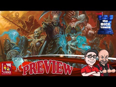 """""""COURT OF THE DEAD"""" a Dice Tower Preview - with Boardgame"""