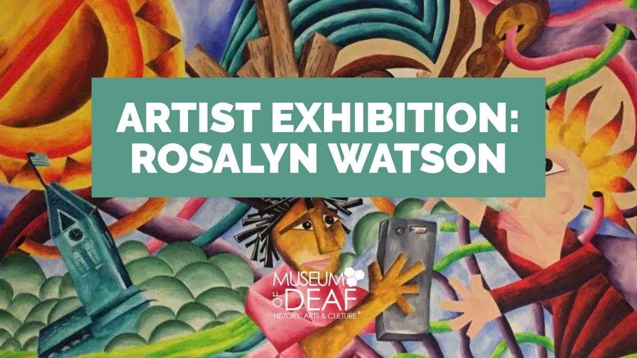 Grand Reveal of Featured Artist Rosalyn Watson