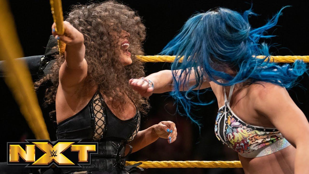 Mia Yim vs. Vanessa Borne: WWE NXT, Aug. 21, 2019