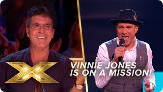 Vinnie Jones is on a MISSION with this Blues Brother's CLASSIC!   Live Week 1   X Factor: Celebrity