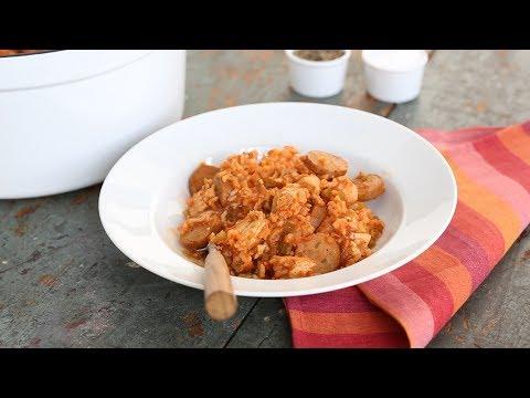 Quick and Easy Jambalaya- Everyday Food with Sarah Carey