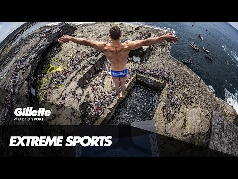The Art and Impact of Cliff Diving | Gillette World Sport