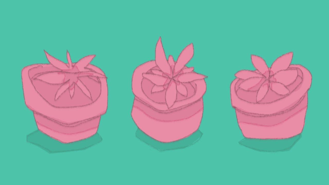 1 phone, 4 plants