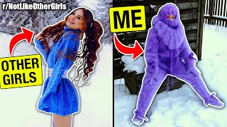 I'm REAL FUZZY 💜❄️ | r/NotLikeOtherGirls