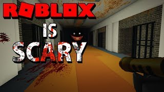 ROBLOX IS SCARY? | Roblox Horror Map - Jailbreak Horror