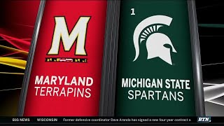 Maryland at Michigan State - Men's Basketball Highlights