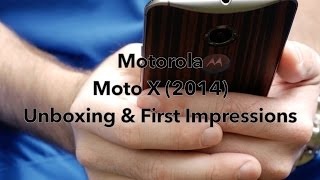 2014 Motorola Moto X (Pure/Ebony Edition)  Unboxing and First Impressions!
