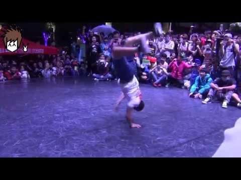 Bboy Taisuke in China | Beijing Happy Valley (欢乐谷) Jam 2014 | Judge Showcase | CoolAznTutorials