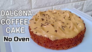 Dalgona Coffee Cake Without Oven l How to make Dalgona Coffee Cake Recipe