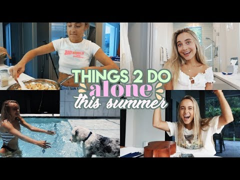 things to do *alone* this summer!