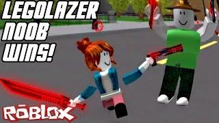 Legolazer Noob Wins! // ROBLOX: LAZER (Free For All)