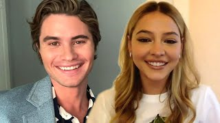OUTER BANKS: Chase Stokes & Madelyn Cline on John B. and Sarah's Marriage and Season 3!