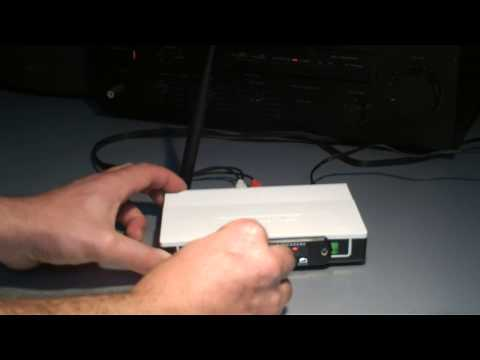 Dead Router to Radio/MP3 player