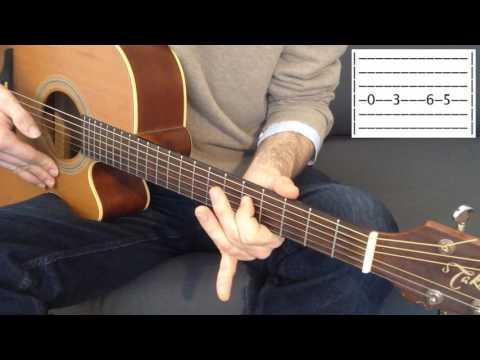 Débutant guitare, jouez votre première chanson