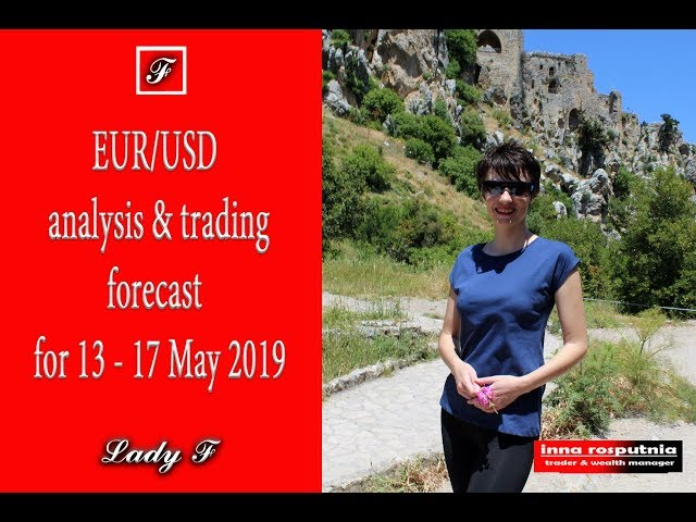 EUR/USD analysis and trading forecast for 13-17 May 2019