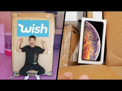 I Bought a $2,000 Wish.com Pallet AND FOUND THIS! iPhone XS Mystery Box!