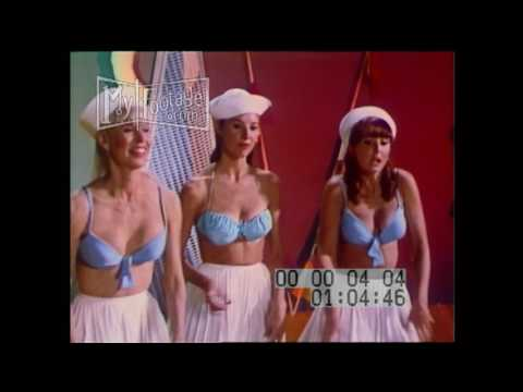 1966 Land of A Thousand Dances Nino Tempo and April Stevens Stock Footage HD