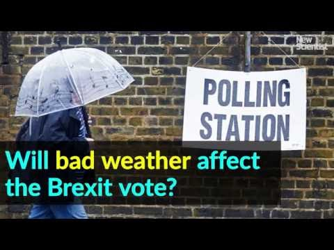Will bad weather affect the Brexit vote?