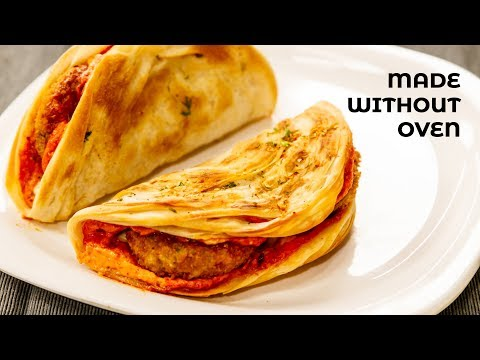 Taco Mexicana – Homemade Dominos Style in Tawa / Oven Tacos Shells Recipes – CookingShooking