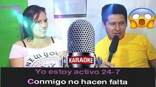 A mi me gustan Mayores (karaoke-con mayi) Como Pudo Ganarme?