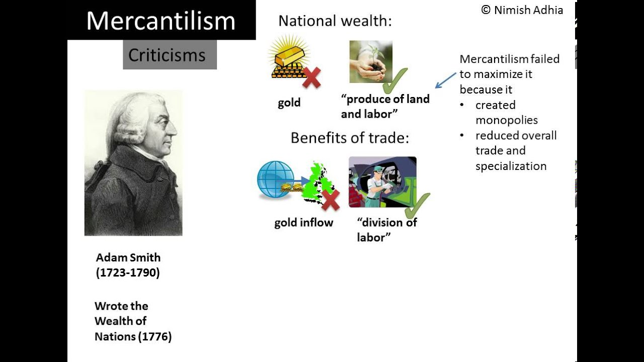 an analysis of the theory of mercantilism Mercantilism was popular and it was the prevailing economic philosophy in the great britain, the netherlands, spain, and france from the 16th to the 18th century (gabay, et al 2007) gabay, et al asserts that according to the theory of mercantilism, for a nation to become rich and powerful, it needs to export more and import less.