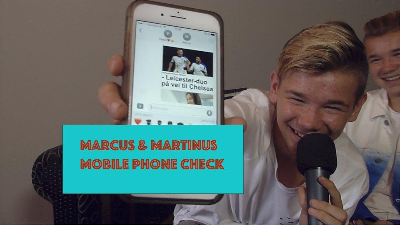 75b2a85c28 Marcus   Martinus - Mobile Phone Check