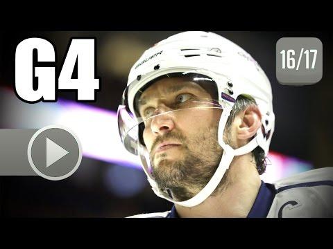 Washington Capitals vs Toronto Maple Leafs. 2017 NHL Playoffs. Round 1. Game 4. 04.19.2017 (HD)