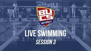 BUCS Nationals 2019 | Swimming Session 3