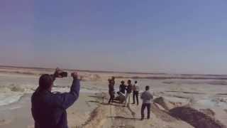 هانى عبد الرحمن رئيس تحرير القناة يرصد أكبر احواض الترسيب