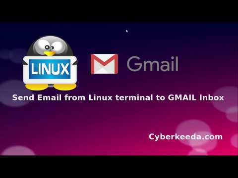 Use GMAIL To Send Emails From Linux Terminal And Shell Script