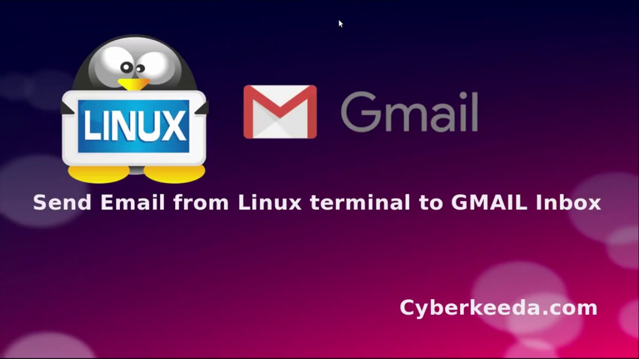 send email from shell command line | Codexpedia