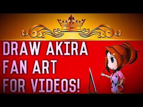 Draw Art For Akira X Listener Videos!!!!