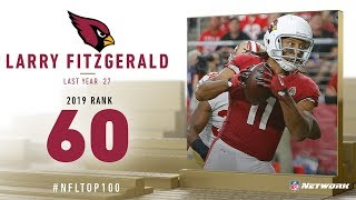#60: Larry Fitzgerald (WR, Cardinals) | Top 100 Players of 2019 | NFL