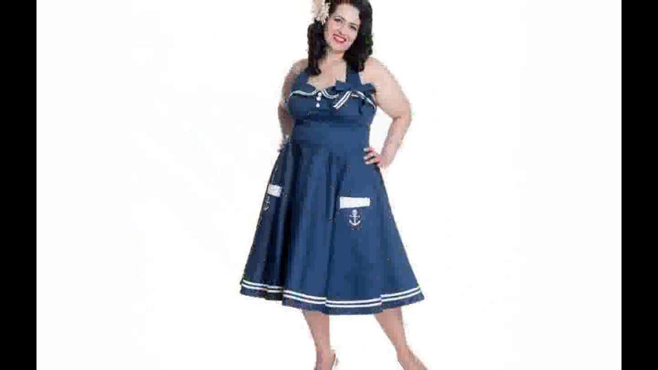 Plus Size Rockabilly Dress - YouTube