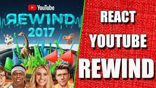 REAGINDO AO YOUTUBE REWIND 2017 - YouTube Rewind: The Shape of 2017 | #YouTubeRewind (REACT)