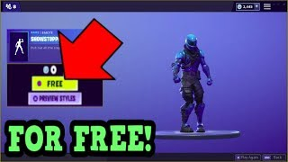 HOW TO GET SHOWSTOPPER EMOTE FOR FREE! (Fortnite Old Emotes)