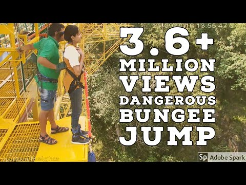 Bungee Jump @ Rishikesh | India's Highest Bungee Jumping Point 83m