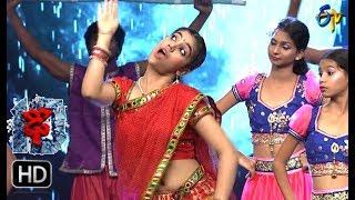 Aqsa Khan Performance   Dhee 10   25th October 2017  ETV Telugu
