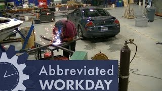 Welding HV Ground Targets: Abbreviated Workday #51