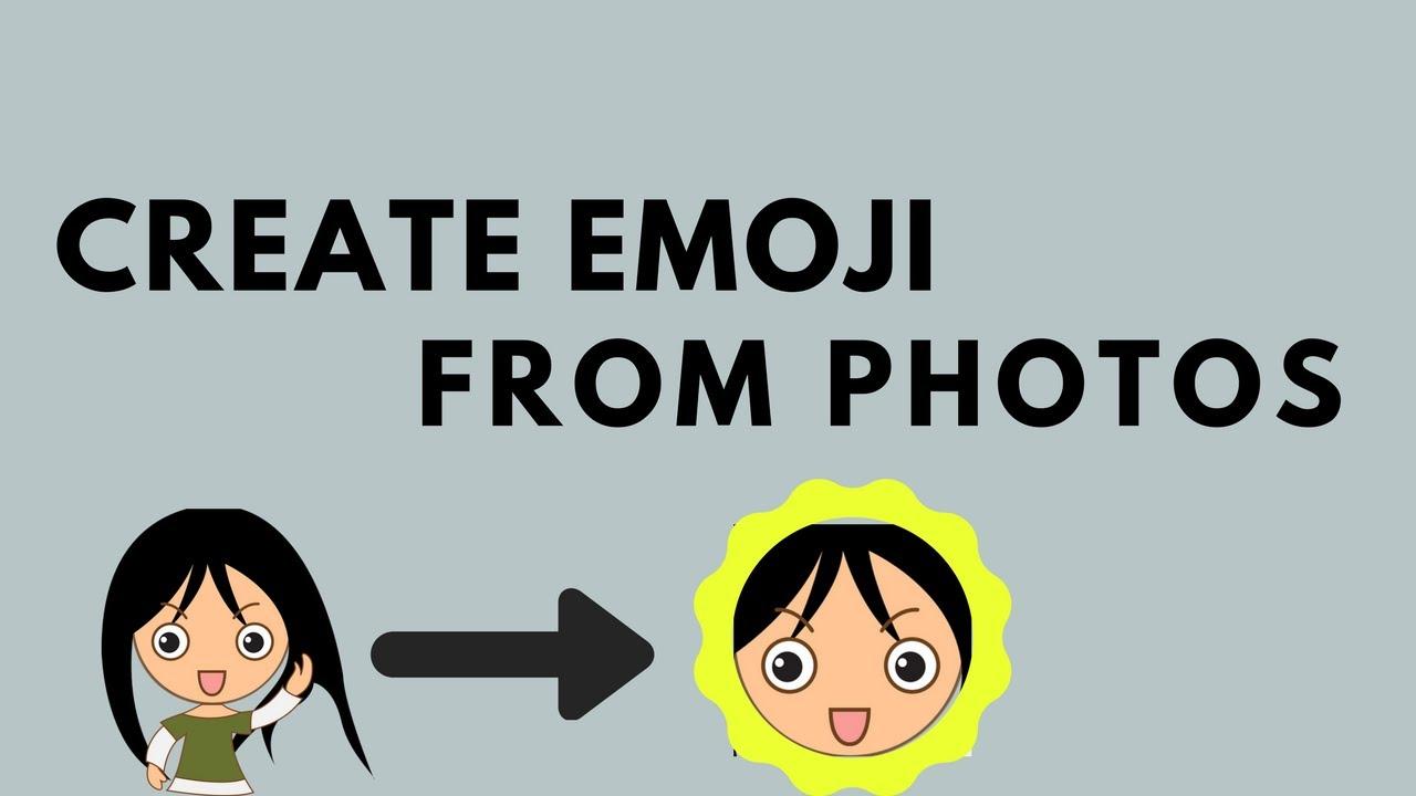 Create emoji from photo