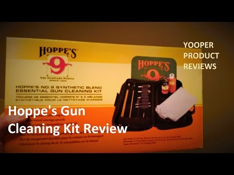 Hoppe's No. 9 Gun Cleaning Kit Review