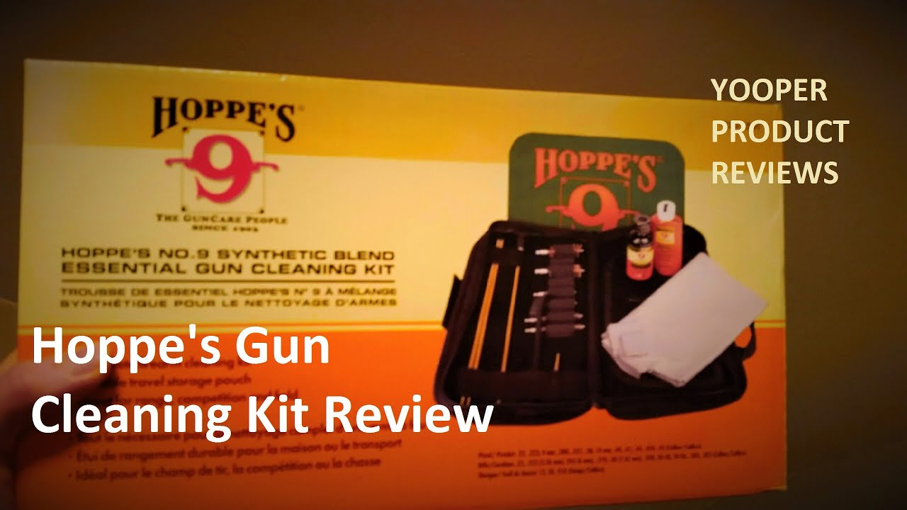 Hoppes No 9 Gun Cleaning Kit Review Youtube