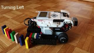 Lego Mindstorms EV3 Domino Stacker