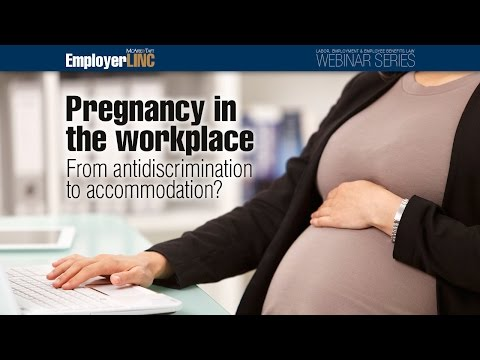 Pregnancy in the workplace: From antidiscrimination to accommodation?