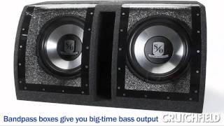 How to Choose a Car Subwoofer   Crutchfield Video