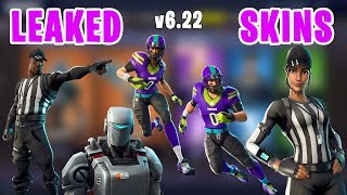 *NEW LEAKED* Fortnite NFL Skins and Hunting Party - A.I.M. Robot , Referee , Football