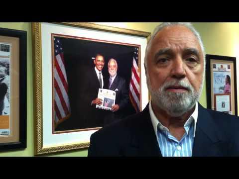 Danny Bakewell Sr. - Vote for President Obama
